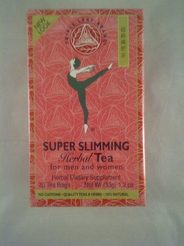 2 Boxes Triple Leaf Tea Super Slimming Herbal Tea 40 Tea Bags