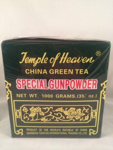 Temple Of Heaven China Green Tea Special Gunpowder 1000 Grams