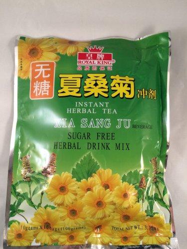 Instant Tea Herbal Tea Xia Sang Ju 10g X 10 Bags