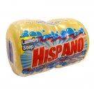 12 Bars Hispano Laundry Soap 2 BAR Round 5.64 Oz /160 Gr