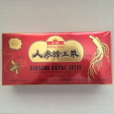 Royal King Ginseng Royal Jelly Extract 30 Bottles