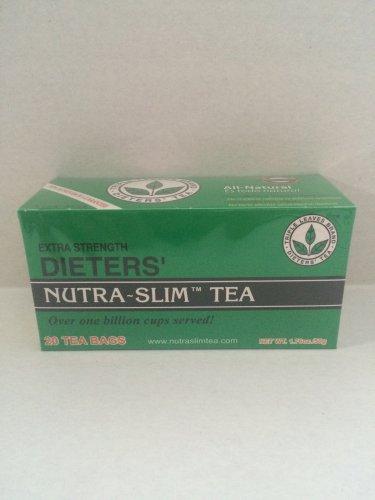 Triple Leaves Brand Extra Strength Dieters' Nutra-Slim Tea 40 Tea Bags