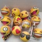 12 PCS Emoji Face Expression Squeeze Balls Stress Ball Squeeze Party Favor