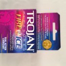 Trojan Pleasure Fire & ICE Dual Action Ultrasmooth Lubricated Premium Latex Condoms 36 pcs (12 Pack)