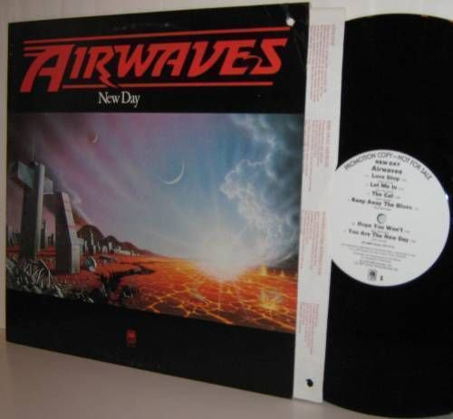 '77 AIRWAVES LP New Day - White Label Promo