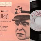 1950's JOHN PHILIP SOUSA 45 EP PS Stars And Stripes Forever RCA EPAT-402