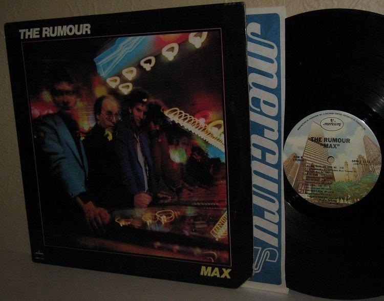 '77 THE RUMOUR LP Max Ex / M- with Brinsley Schwarz