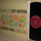 Music Of LEROY ANDERSON Vol 3 FREDERICK FENNELL LP Living Presence Shrinkwrap