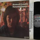 '71 RICHARD LANDIS LP Natural Causes Ex/M- with Insert