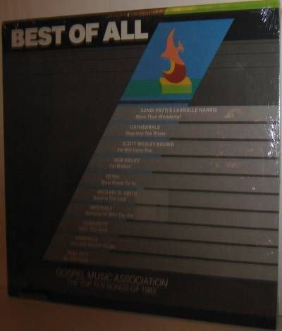 Various Xian Artists LP: Top 10 Songs of 1983 - SEALED
