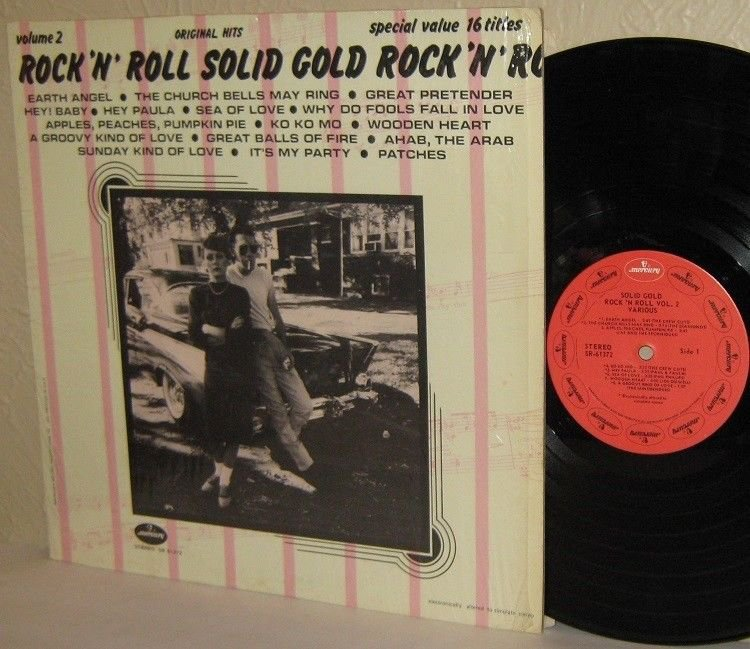 Various Artists: Rock n' Roll Solid Gold Vol.2 in Shrinkwrap-Crew Cuts Platters