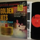 1960's PATTI PAGE Golden Hits LP in Shrinkwrap Mint Minus / VG+