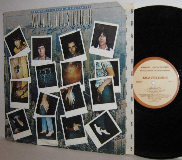 '78 WILLIE ALEXANDER & THE BOOM BOOM BAND LP Meanwhile Back In The States