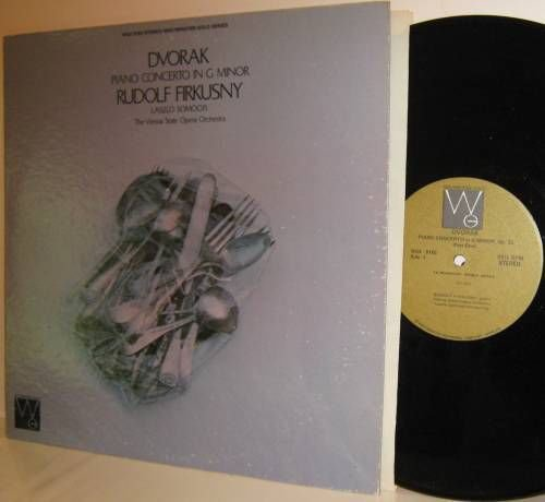 DVORAK Piano Concerto G Minor re LP Firkusny Somogyi