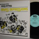 1989 MARK JANSON & THE BRASS EXPRESS Indie Polka LP Brass Expressions M- / VG+