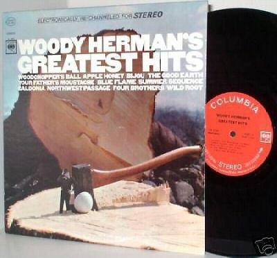 WOODY HERMAN Greatest Hits LP ~M- Vinyl 360 Sound Label