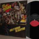 1984 Various Artists LP TEN FROM TEXAS Herd It Through The Grapevine VG+/M-
