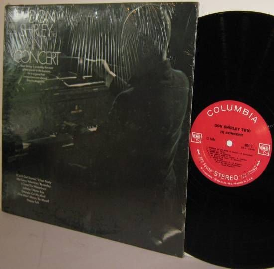 """'68 DON SHIRLEY TRIO LP In Concert M- / Ex in Shrinkwrap """"360 Sound"""" Stereo"""