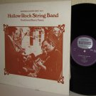 HOLLOW ROCK STRING BAND LP Traditional Dance Tunes - Saydisc Matchbox UK press