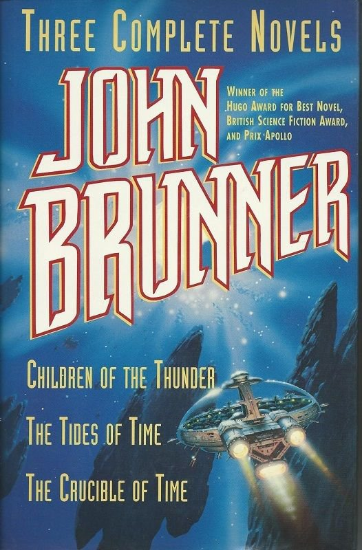 John Brunner : Three Complete Novels by John Brunner (1995, Hardcover)