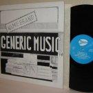 1982 Name Brand GENERIC MUSIC LP Fort Wayne, IN Private Label Pressing