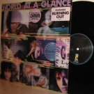 '88 WORLD AT A GLANCE self-titled LP Ex / M- Promo DMM