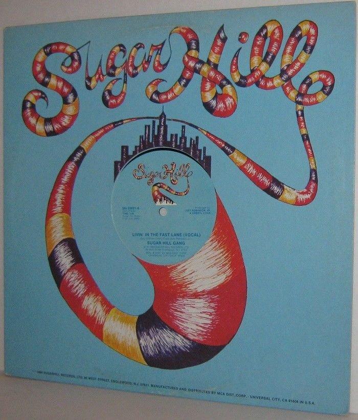 "1984 SUGARHILL GANG 12"" 33rpm Sgl. Livin' In The Fast Lane Vocal / Instrumental"