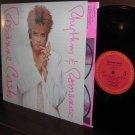 1985 ROSANNE CASH LP Rhythm & Romance VG+ / M- Promo