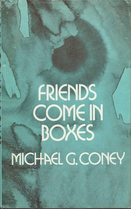 Michael G. Coney Friends Come In Boxes- 1975 UK Readers Union Edition  Sci-Fi