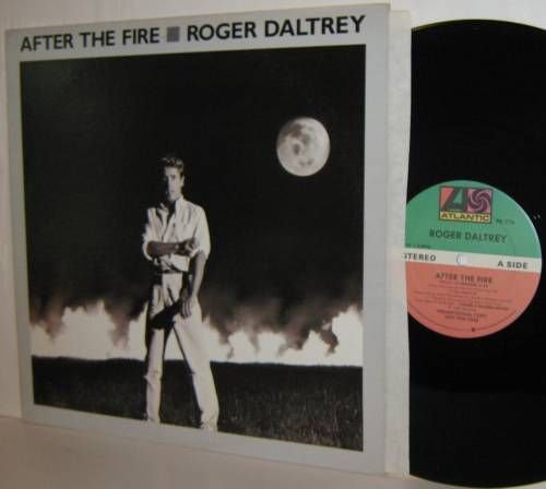 "'85 ROGER DALTREY 12"" After The Fire -Promo NM The Who"
