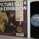 MOUSSORGSKY Pictures At An Exhibition LP BERNARD HAITINK Philips Dutch Press M-