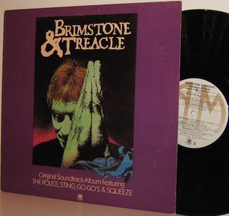 '82 OST LP: BRIMSTONE & TREACLE - Sting Police Squeeze