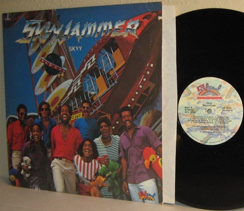 1982 SKYY LP Skyyjammer VG+ / Mint Minus Vinyl . . . R&B Funk / Boogie