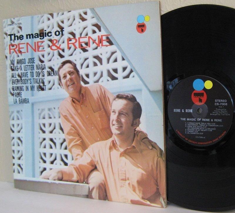 1970 The Magic Of RENE & RENE LP Ex / Ex