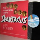 Soundtrack LP: SPARTACUS  Ex / Ex reissue