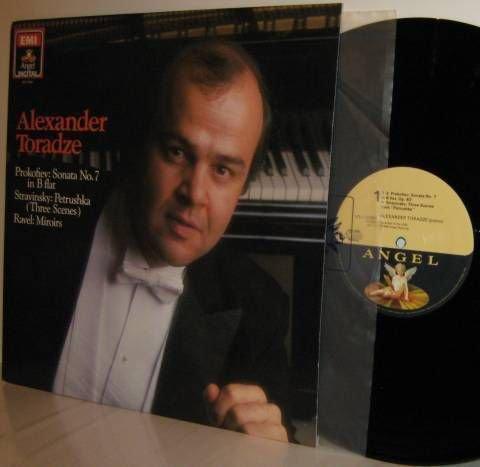PROKOFIEV STRAVINSKY RAVEL LP Alexander Toradze NM