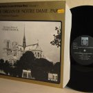 LP SAGA 5390 Organ Of Notre Dame Paris PIERRE COCHEREAU / Cesar Franck NM