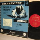 London LP LL-1155 RACHMANINOFF Isle Of The Dead DUKAS La Peri ERNEST ANSERMET