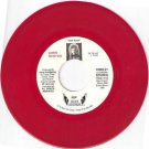 '89 GWEN NEWTON 45 PS Soft Touch Private TX RED VINYL
