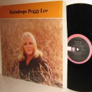 PEGGY LEE LP Raindrops NM / Ex in Shrinkwrap