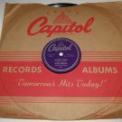 1949 BILL HARRIS 78 rpm How High The Moon / The Moon Is Low Capitol 57-60004