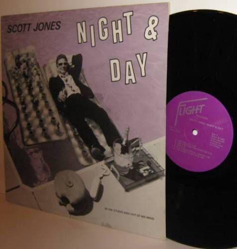 '82 SCOTT JONES LP Night and Day - MN Private