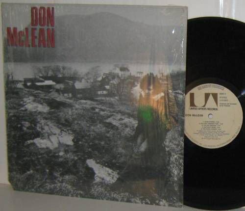 '72 DON McLEAN self-titled LP in Shrinkwrap