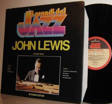 '82 JOHN LEWIS Compilation LP i grandi del Jazz Italian