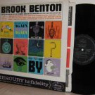 '62 BROOK BENTON LP There Goes That Song Again Mono EX