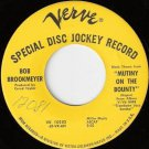 BOB BROOKMEYER Verve Promo 45 from Trombone Jazz Samba