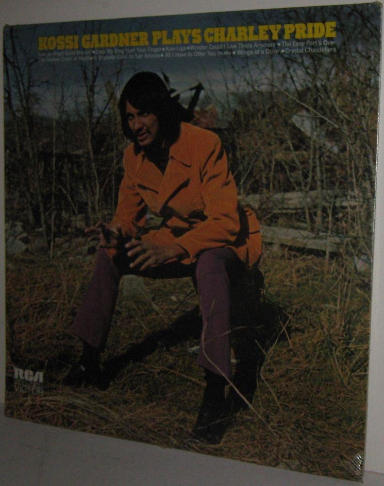 '72 KOSSI GARDNER Plays Charley Pride LP - STILL SEALED