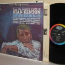 1961 STAN KENTON LP Adventures In Blues - Mellophonium