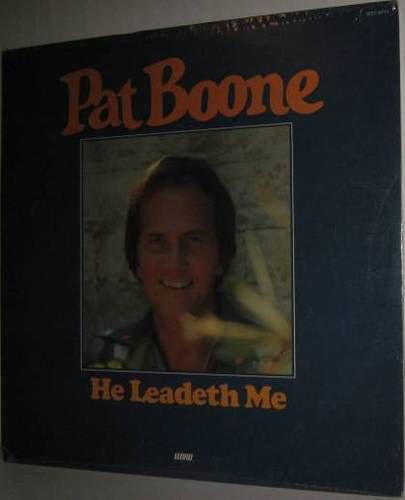 '76 PAT BOONE Xian LP He Leadeth Me - Still SEALED
