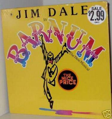 '80 Cast LP: BARNUM ~ Still SEALED Cy Coleman